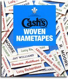 Cashs Woven Nametapes - Sew and So