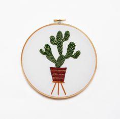 Cactus Embroidery - Sarah K. Benning