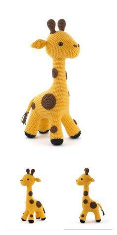 Amigurumi Sophie the Giraffe Free Pattern – Free Amigurumi Patterns Crochet Giraffe Pattern, Crochet Amigurumi Free Patterns, Crochet Animal Patterns, Stuffed Animal Patterns, Softie Pattern, Giraffe Toy, Knitted Animals, Clay Animals, Sock Animals