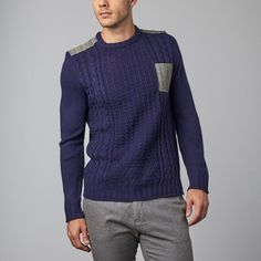 Military Sweater // Navy