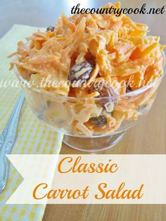 Fat carrot salad low
