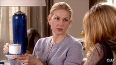 Kelly Rutherford Loose Bun