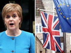 NICOLA Sturgeon's SNP is the most anti EU party in Scotland, it has emerged.