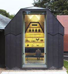 Ditchling Museum of Art + Craft following a major refurbishment by Adam Richards Architects.