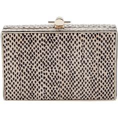 JASON WU 'Karlie' box clutch (21.890 ARS) ❤ liked on Polyvore featuring bags, handbags, clutches, bolsas, bolsos y mochilas, clutches / wallets / purses, chain strap purse, man bag, pink clutches and chain-strap handbags