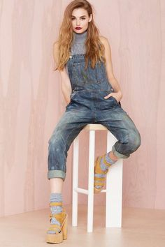 Nasty Gal Denim - The Over It Overalls | Shop What's New at Nasty Gal
