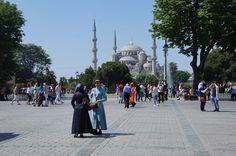 Mesquita Azul - Istambul - Turquia - Viagem com Sabor