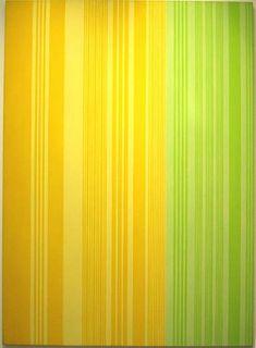 Lime-Lemon - Gene Davis
