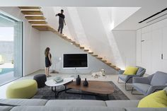 Dos stairs! | ZA House by Shachar Rozenfeld Architects | HomeAdore