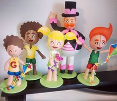 Bita e as crianças em gema brinquedos. #bita #festabita #festainfantil