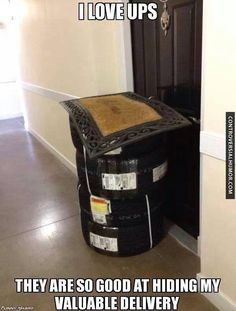I Love UPS - http://controversialhumor.com/i-love-ups/ #Funny, #FunnyPictures, #Ups