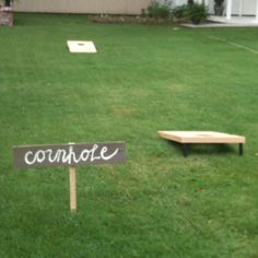 cannot wait for summer....corn hole, camp fires, friends, and cookouts