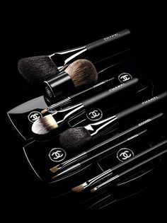 Chanel brushes---I don't know what I'd do without these. Best brushes I've ever owned!