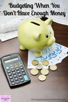 Budgeting when you don't have enough money to pay bills is hard! Learn tips to cut your spending, use printables or a spreadsheet, but get your money under control!