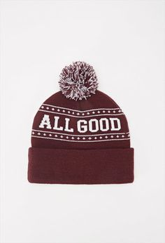 All Good Pom Beanie | Forever 21 - 2000162893