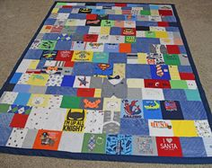 One of the cutest baby clothes quilts I've seen, I like this style the best! jellybeanquilts.com