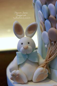 Edoardo's Christening cake - Cake by Sweet Janis - CakesDecor