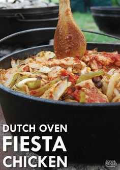 Dutch oven fiesta chicken is a delicious addition to any cookout | Iowa DNR