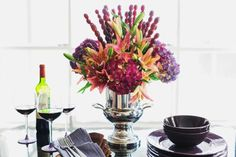 Easy Centerpieces for Thanksgiving or Fall Parties   Entertaining Ideas & Party Themes for Every Occasion   HGTV