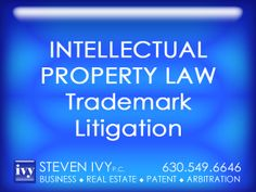 TRADEMARK LITIGATION - Trademark infringements are common occurrence in today's market. Causing infringement is easy, since trademark infringement doesn't have to be purposeful, or even very exact. STEVEN IVY P.C. handles cases addressing issues of trademark rights, trade dress, trade names and service marks.