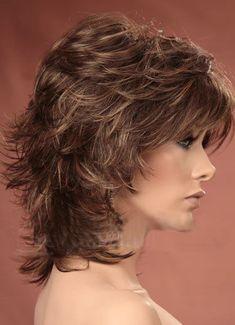Shaggy Short Hair, Messy Short Hair, Choppy Hair, Haircut For Thick Hair, Short Hair With Layers, Short Hair Over 50, Short Choppy Bobs, Messy Bob, Medium Hair Cuts