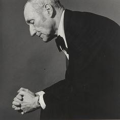 William Burroughs by Robert Mapplethorpe, 1980