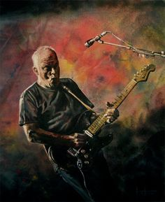 A Genius...David Gilmour of Pink Floyd!
