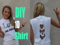 One Direction Crafts, One Direction Outfits, One Direction Concert, Concert Nails, 1d Concert, Concert Shirts, Diy Clothes Accessories, How To Make Tshirts, Fancy Pants