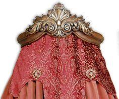 Fleur De Lis Bed Crown