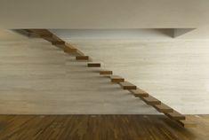 Gallery of House 53 / Marcio Kogan - 2 Interior Stairs, Home Interior Design, Interior Modern, Brazil Houses, Studio Mk27, Architecture Design, Modern Stairs, Stair Steps, Floating Stairs