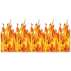 Flame Backdrop (6ct)
