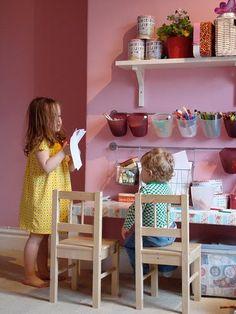 kids craft area