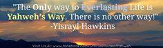 #everlasting #life #yahweh