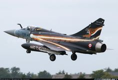 French Air Force (Armée de l'Air) Dassault Mirage 2000-5F 51 / 118-AS (cn 51) NTM 2014 - special tiger colors from the ECE 05.330