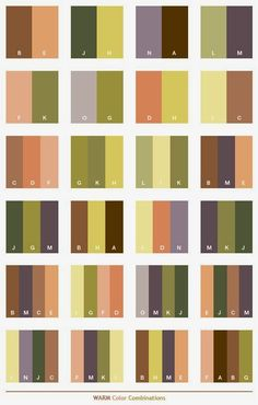 Warm Color Schemes Combinations Palettes For Print Cmyk And Web Rgb Html