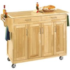 Kitchen Island Jcpenney sliding door kitchen cart - jcpenney | kitchen islands | pinterest
