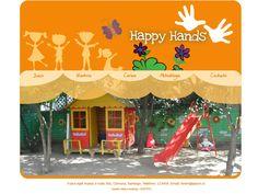 Maqueta de Sitio Web para Jardin Infantil Happy Hands