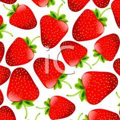 iCLIPART - Strawberry Background