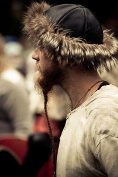 Great hat & beard!
