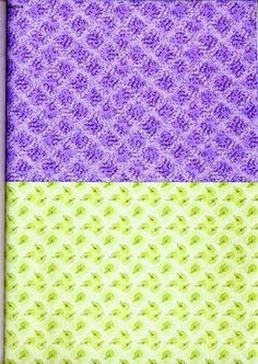 purple and green backing Decoupage, Pretty Patterns, Scrapbook Paper, Quilts, Blanket, Purple, Crochet, 3d, Play