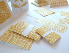 free printable   set of 3 decorative patterned papers