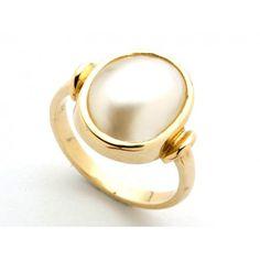 9ct Mabe Pearl Ring. gerrim.com