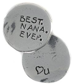 Crosby & Taylor - pewter token - Best Nana Ever