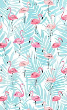17 ideas for wallpaper pink flamingo patterns Wallpaper Pastel, Cute Patterns Wallpaper, Flamingo Wallpaper, Summer Wallpaper, Iphone Background Wallpaper, Aesthetic Iphone Wallpaper, Cellphone Wallpaper, Disney Wallpaper, Pink Pineapple Wallpaper