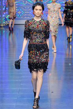 Dolce & Gabbana RTW Spring 2012