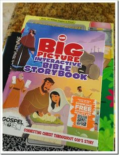 Illustrating through the Bible with kids!