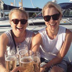 Official #ladysail2015 kick-off with these beautiful ladies! #hanko #tupladiggaan #suomenkesa #sailing #itämerentyttäret #honeymoon #stopandthink #syfrida #ladysail