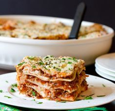 Lasagna for breakfast? I think YES.