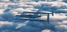 Rutan Voyager - The first plane to circumnavigate the globe non-stop.