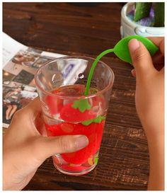 strawberry tea infuser